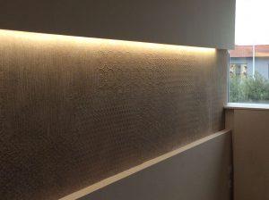 decorazione artistica pareti e arredi studio legale