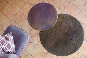 tavoli di design decorazione artistica